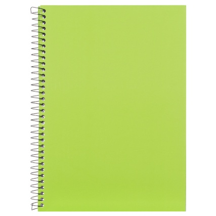 300011-A4-Bright-Hard-Back-Book-green