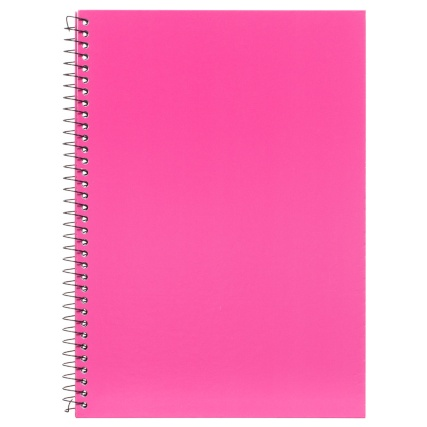 300011-A4-Bright-Hard-Back-Book-pink