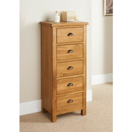 300061-Wiltshire-5-drawer-tall-chest