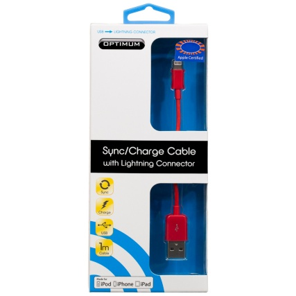 300173-Optimum-Sync-Charge-Cable-with-Lightning-Connector-red