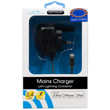 300175-Optimum-Mains-Charger-with-Lightning-Connector-black