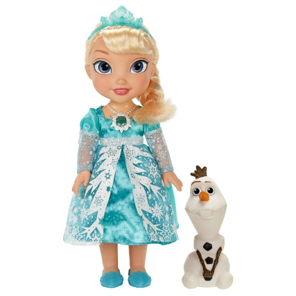 300301-Disney-Frozen-snow-globe-Elsa-and-Olaf-doll-set-in-action-2