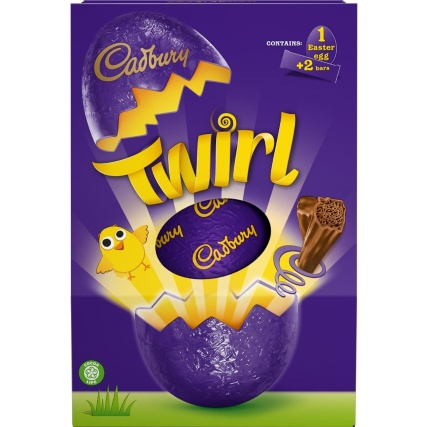 Cadbury Twirl Large Easter Egg 262g