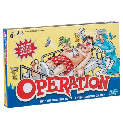 Hasbro Operation Game Board Games Amp Puzzles Electronic