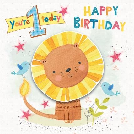 301170-Juv-Birthday-Age-1-Cute-Lion-Wobbler