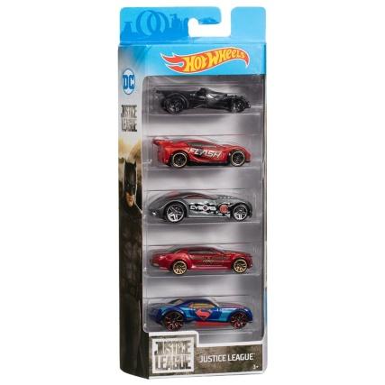 301932-5pk-hot-wheels-diecast-justice-league