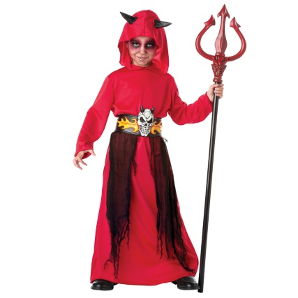 Boys Scary Robes Costume - Lord of Flames