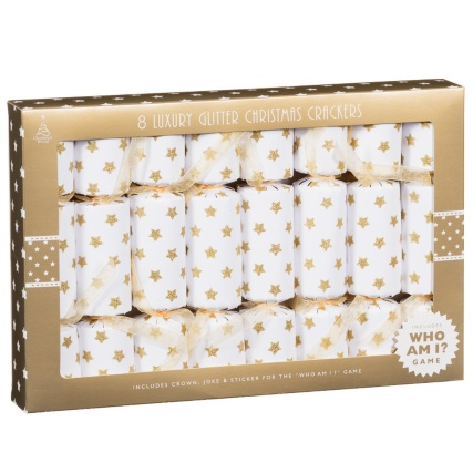 302160-8x8inch-Gold-Stars-Crackers-With-Glitter