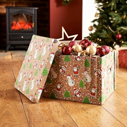 Christmas Accessories Storage Box - Novelty Christmas