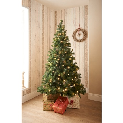 Pre-Lit Aspen Christmas Tree 6ft