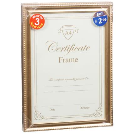 302583-3pk-A4-Certificate-Gold-Frames1