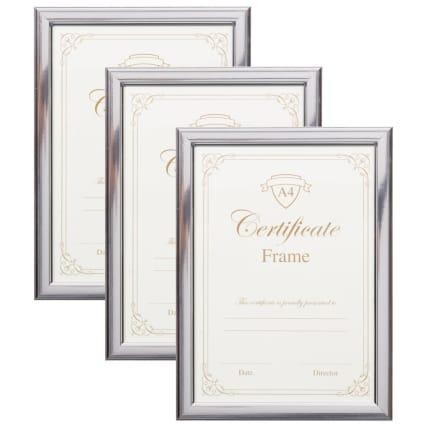 302583-3pk-A4-Certificate-Silver-Frames-main1