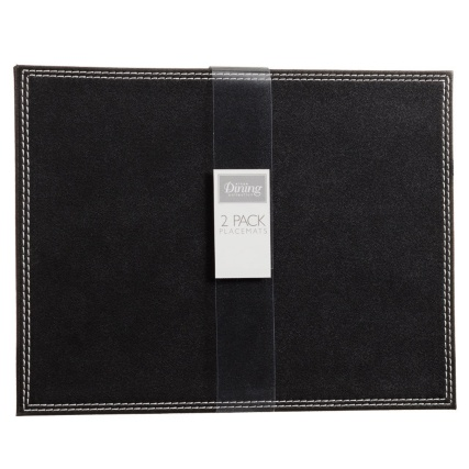 302601-Set-of-2-Leatherette-Placemats-black1