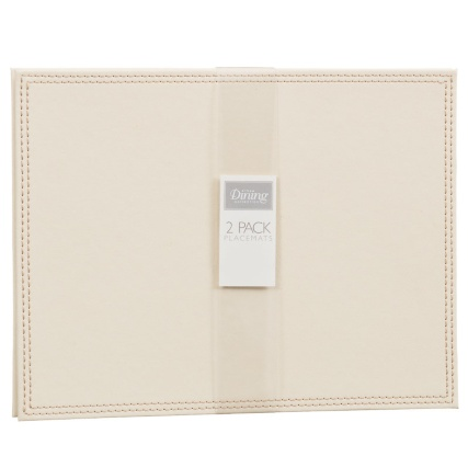 302601-Set-of-2-Leatherette-Placemats-cream1