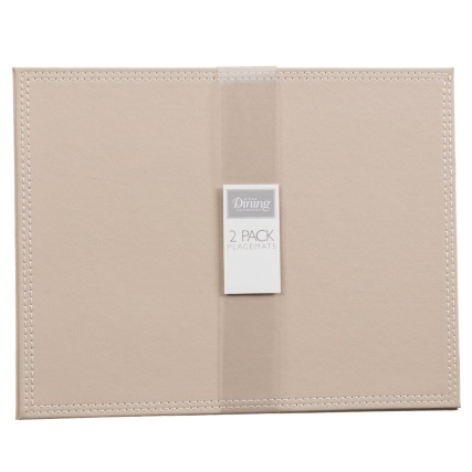 302601-Set-of-2-Leatherette-Placemats-taupe1