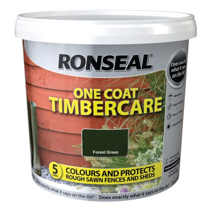 302682-Ronseal-One-Coat-Timbercare-Forest-Green