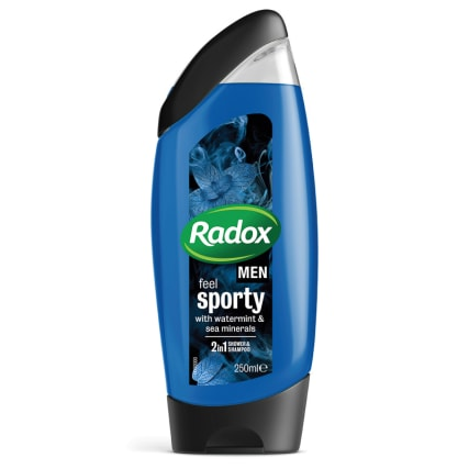 332999-Radox-Men-Feel-Sporty-Watermint-and-Sea-Mineral-2in1-Shower-Gel-250ml