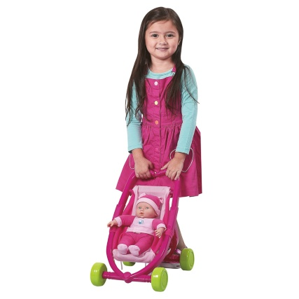 303374-30cm-Doll-and-Stroller-2