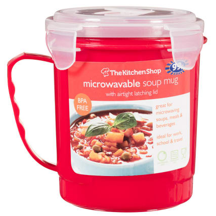 303986-Microwaveble-Soup-Mug-with-Airtight-Latching-Lid-red1