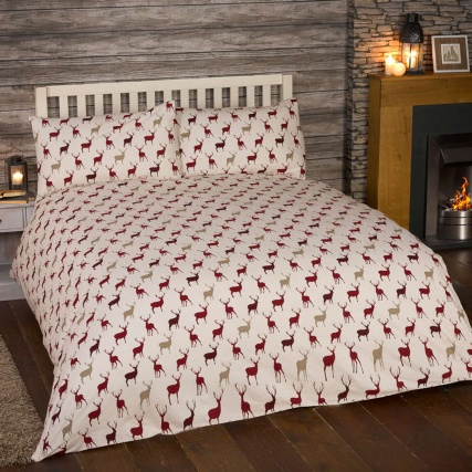 304002-304005-Stag-RED-duvet-cover