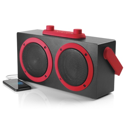 Intempo Bluetooth Retro Blaster - Red