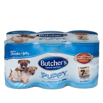 304108-Butchers-Puppy-Meaty-Chunks-in-Jelly-6x400g-tins1