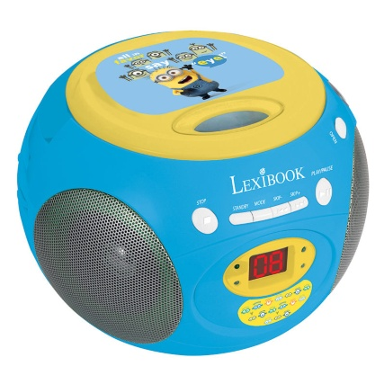 Despicable Me Minions CD Boombox