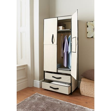 304360-deluxe-double-canvas-wardrobe-natural-open
