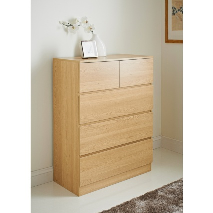 Harvard 5 Drawer Chest Unit