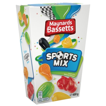 Maynards Sports Mix 400g Sweets Confectionary B Amp M