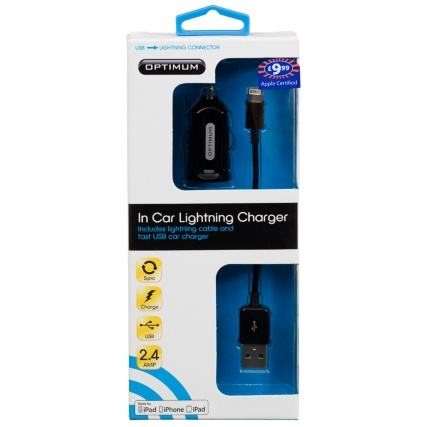 304652-Optimum-In-Car-Lightning-Charger-black