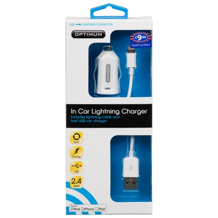 304652-Optimum-In-Car-Lightning-Charger-white