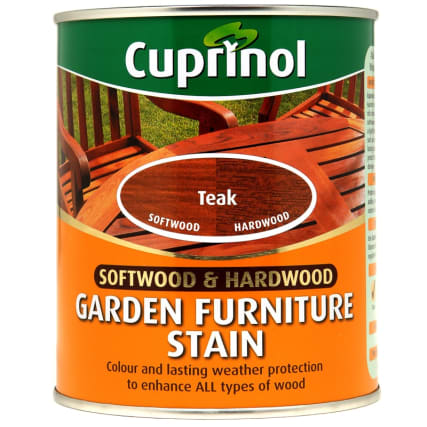 Cuprinol Garden Furniture Stain Teak 750ml Exterior Paint