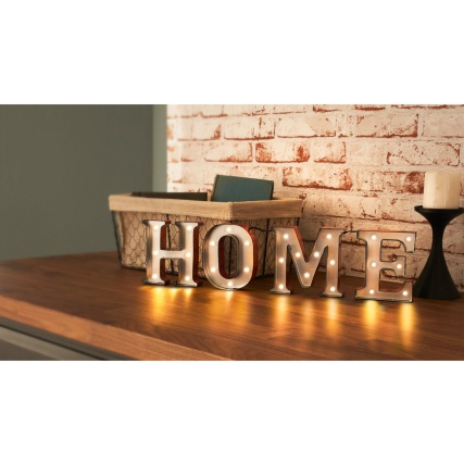 Carnival LED Word Light - Home