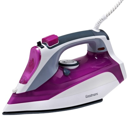 306007-Goodmans-2600W-Steam-Iron