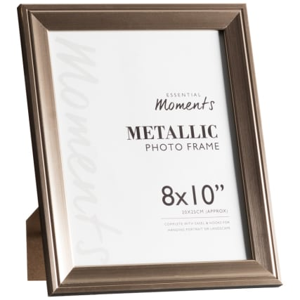 306046-Great-Value-Pack-of-2-Metallic-8x10-inch-Photo-Frames-easel1