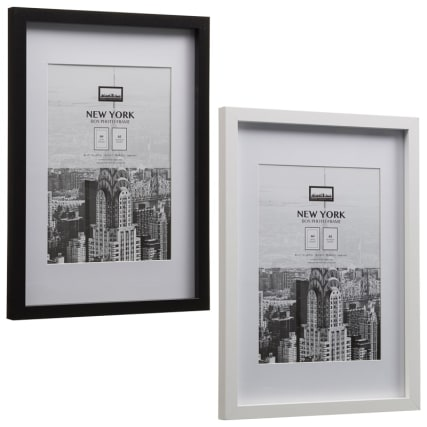 306059-New-York-Black-A4-Photo-Frame