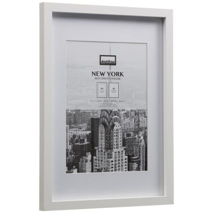 306059-New-York-White-A4-Photo-Frame-2