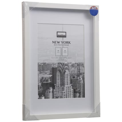 306059-New-York-White-A4-Photo-Frame