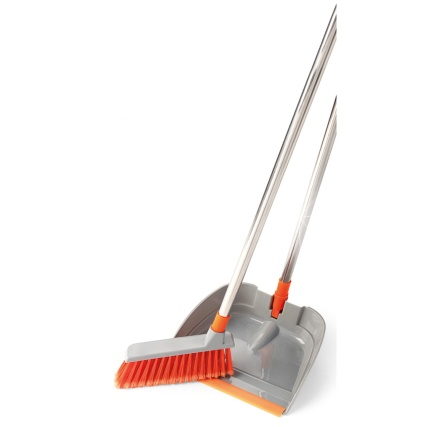 306486-FOLDABLE-DUSTPAN-BRUSH-SET-STAINLESS-STEEL