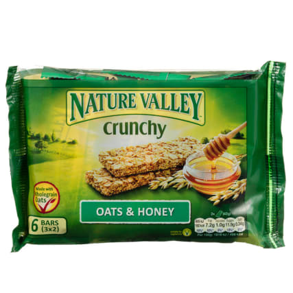 Nature Valley Crunchy - Oats and Honey 6pk