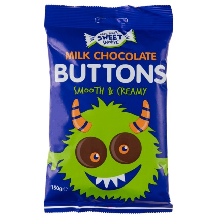 306585-Olde-Sams-Sweet-Shoppe-Milk-Chocolate-Buttons-150g1