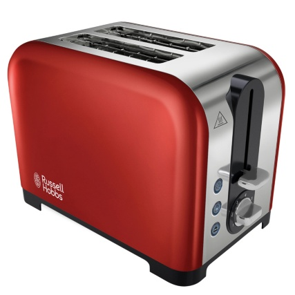 306684-Russell-Hobbs-Red-Canterbury-2-slice-Toaster