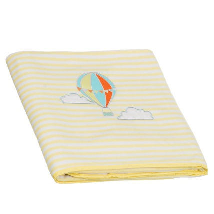 306698-Embroidered-Striped-Baby-Blanket-yellow-hot-air-balloon1
