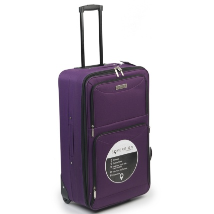 Sovereign Suitcase 72cm - Purple