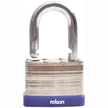 308210-rolson-40mm-laminated-steel-padlock