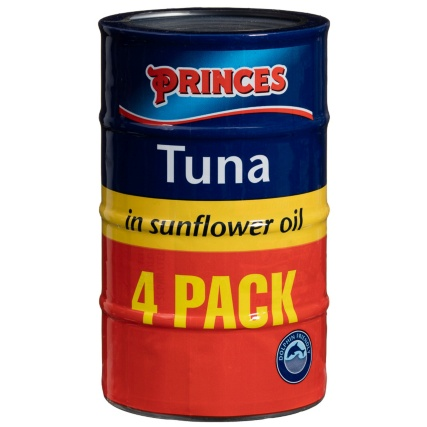 309068-Princess-Tuna-in-Sunflower-Oil-4x145g