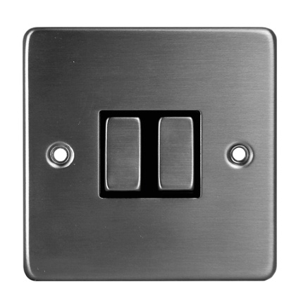 309328-SWITCHES-SOCKETS--LIGHT-SWITCH-DOUBLE--SS