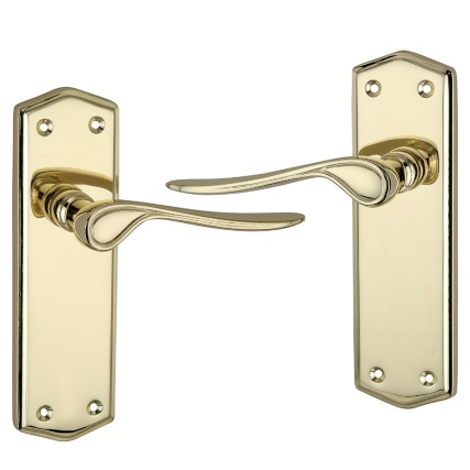 309807-brass-door-handle-plain