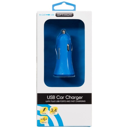 309880-Optimum-Blue-USB-Car-Charger-with-2-USB-Ports-and-Fast-Charging1